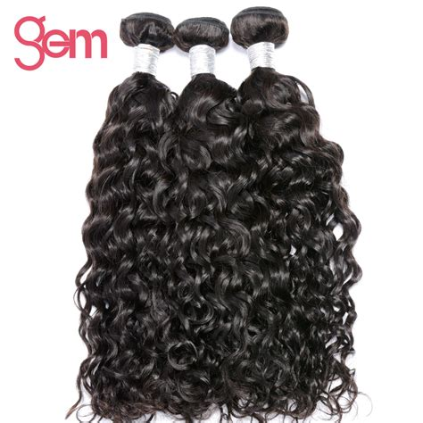 can remy hair be dyed indian water wave hair 100 human hair bundles natural