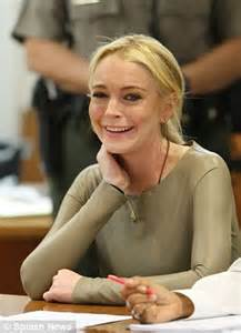 lindsay lohan positive alcohol test whilst under house