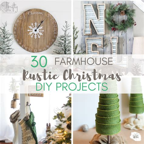 diy projects christmas 30 rustic farmhouse diy projects a hundred