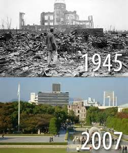 hiroshima vorher nachher hiroshima 70th anniversary then and now photos images