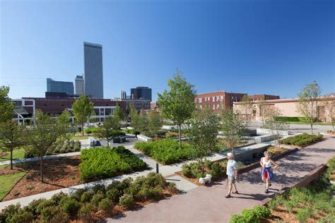 park tulsa tulsa s guthrie green central park by swa catalyzes regeneration in