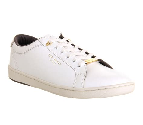 Teds Casual ted baker theeyo sneakers white leather casual
