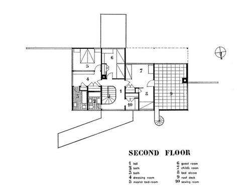 Gropius House 2nd Floor Modern Floor Plan Must Know Moderns Graphics Pinterest