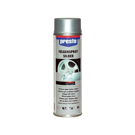 Lackstift Glatt Polieren by Presto Felgensilber Spray 500 Ml 428924