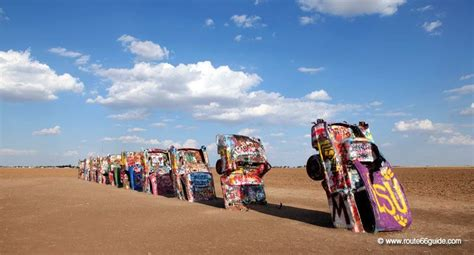 Cadillac Ranch Illinois by Nature And Geology Historic Route 66