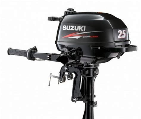 Suzuki 2 Stroke Outboards Suzuki Df2 5l 2 5hp Shaft 4 Stroke Outboard