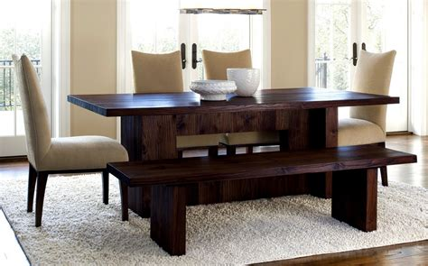 Dining Room Table Decorating Ideas Pictures Feel Like Dining In Caf 233 With Dining Room Table With Bench