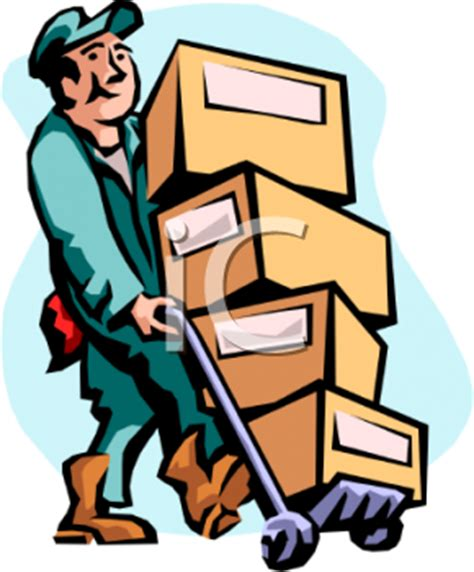 mover imagenes html mover moving cardboard boxes on a dolly royalty free
