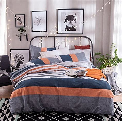 Orange And Navy Bedding by Orange And Gray Bedding Sets Bedding Decor Ideas