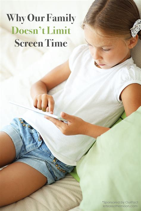 the of screen time how your family can balance digital media and real books why our family doesn t limit screen time lasso the moon