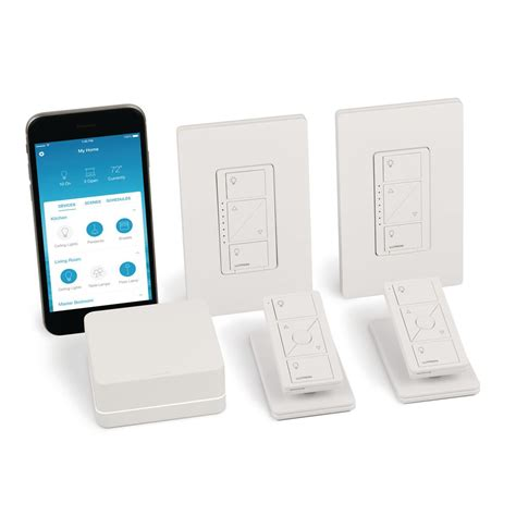 caseta wireless smart lighting dimmer switch starter kit home accents holiday indoor outdoor wireless remote