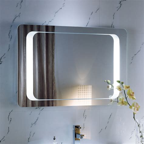 illuminated bathroom mirrors with demister 600 x 900 backlit bathroom mirror wall mounted demister