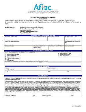 aflac accident claim form. accident claim form aflac group