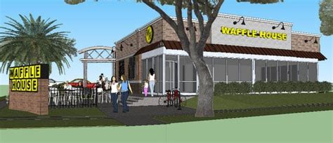 new waffle house quot fanciest quot waffle house ever to open in new orleans first we feast