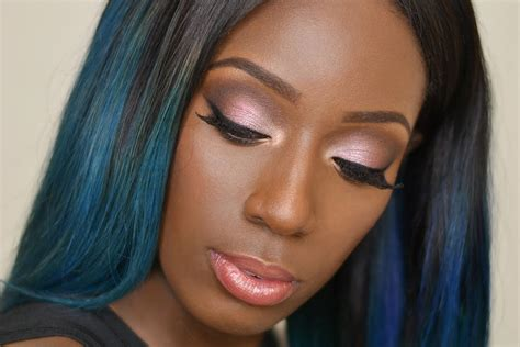 Eyeshadow For Black Skin glam makeup look for brown skin
