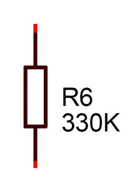 resistor ohm symbol 330k resistor 0 5w