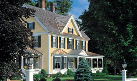 exterior paint colors for colonial homes