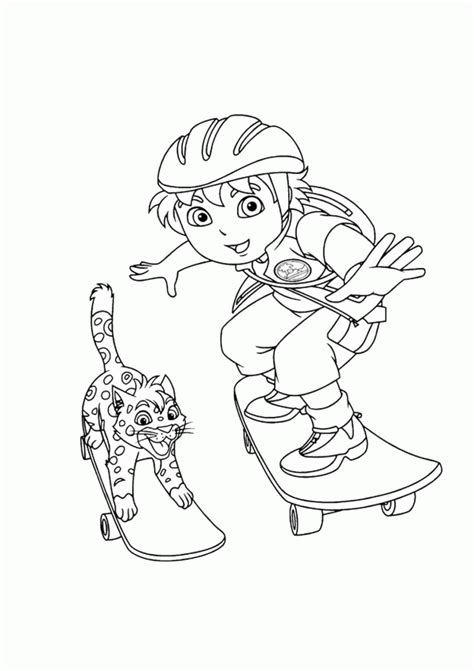 coloring pages baby jaguar diego coloring pages coloring home
