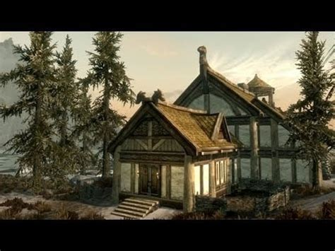 hearthfire houses skyrim hearthfire fully furnished house youtube