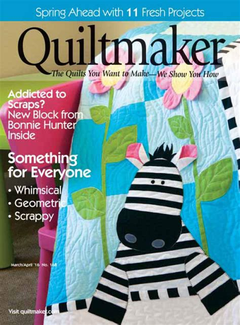 Digital Issue Of Quilting Marchapril 2005 quiltmaker march april 2016