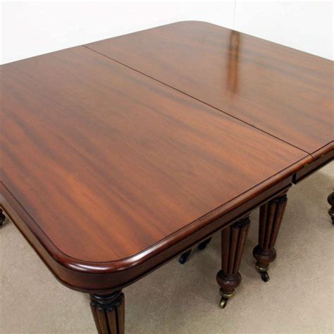 William Iv Dining Table William Iv Mahogany Dining Table Georgian Antiques