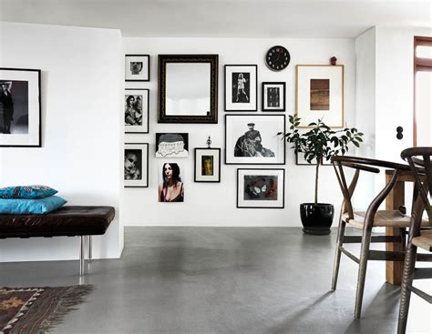 home art gallery design eclectic scandinavian style at it s best