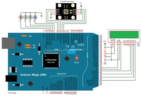 arduino color sensor arduino based color detector