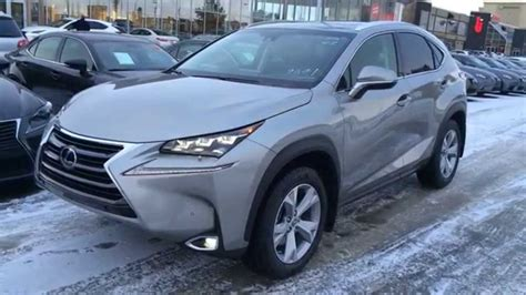 lexus atomic silver nx new atomic silver 2015 lexus nx 200t awd review youtube