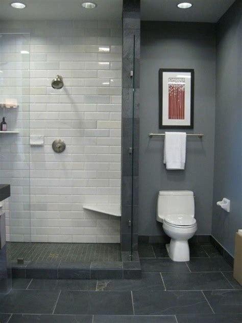 toilet   shower   vanity  slate bathroom