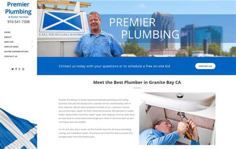 Premier Plumbing by Web Design Seo For Plumbers Plumbing Websites Seo
