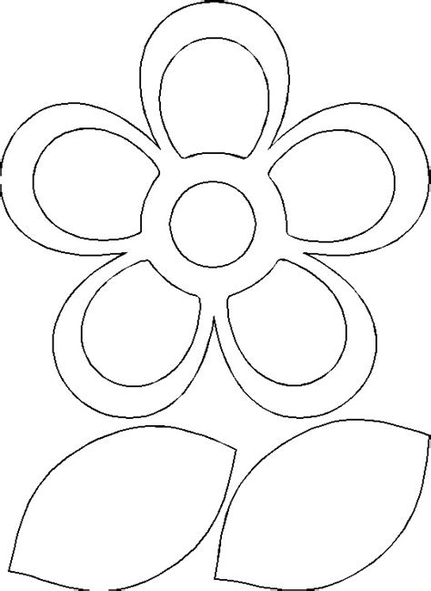 pattern for construction paper flowers search results for flower templates for kids to cut out
