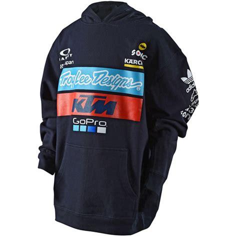 troy lee design ktm hoodie troy lee designs ktm team pullover hoodie youth bto