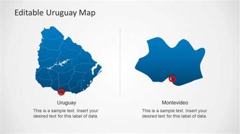uruguay on a world map 2 uruguay powerpoint templates