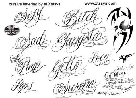 tattoo fonts design your own fancy cursive fonts alphabet for tattoos cool writing