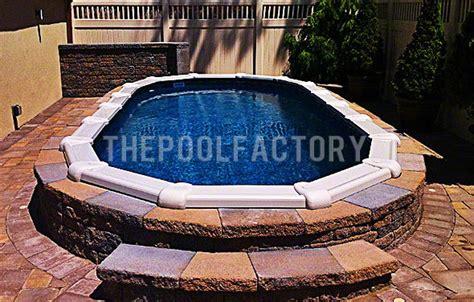 Patio Pavers Around Above Ground Pool Landscaping Around Your Above Ground Pool