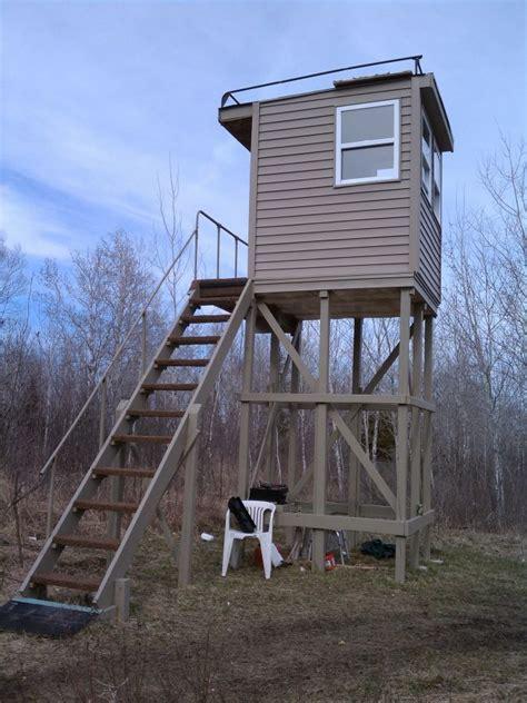 Building A Deer Stand Deer Hunting Bear Elk Moose Deer Shooting House Plans