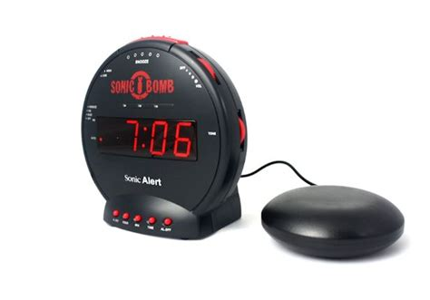 Best Alarm Clock Sound For Heavy Sleepers by Sonic Bomb Alarm Clock Best Alarm Clocks For Heavy