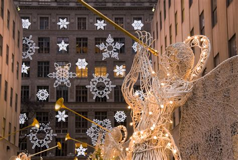city decorations new york city manhattan rockefeller center