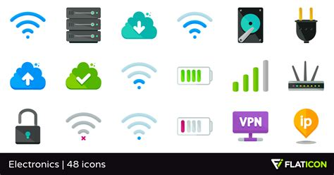 electronics   icons svg eps psd png files