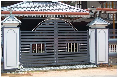 house gate design kerala the gallery for gt compound wall gate designs in kerala