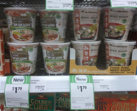 Miso Paste Shelf new on the shelf at coles 28th october 2014 new products australia