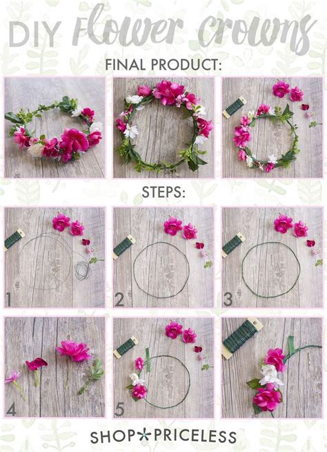 How To Make A Flower Crown Out Of Paper - 25 best ideas about diy flower crown on