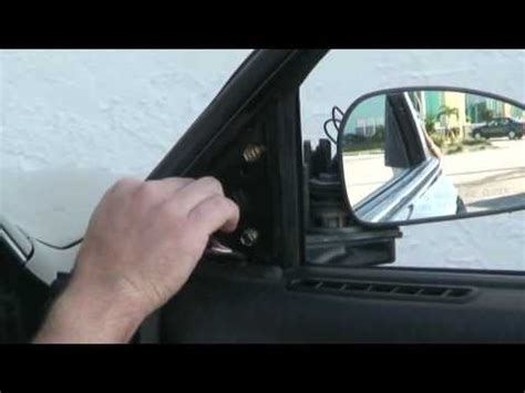 side view mirror replacement (2) youtube