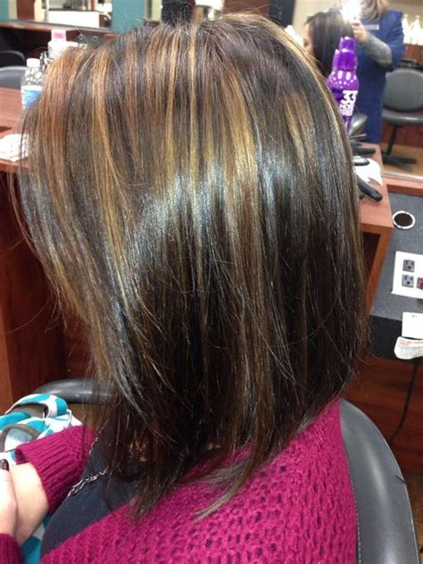 warm color hair highlight palette dark brown with warm light brown highlights my work