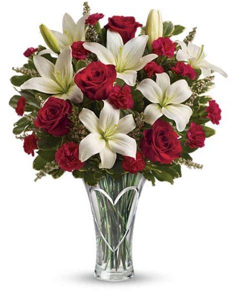 teleflora valentines teleflora s heartfelt bouquet s day flowers