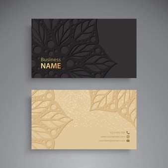 arabic business cards templates arabic ornamental template vector free