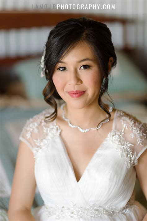Wedding Hair And Makeup Oahu by L Amour Photography And Oahu Hawaii Wedding