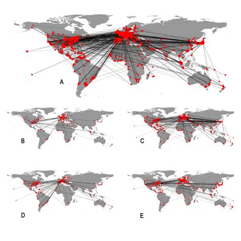 gawc world cities map gawc research bulletin 205