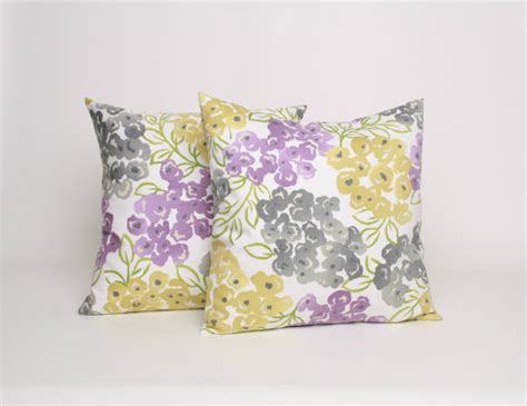 Purple And Grey Throw Pillows by 18x18 Throw Pillow Set Of 2 Gray Purple And By