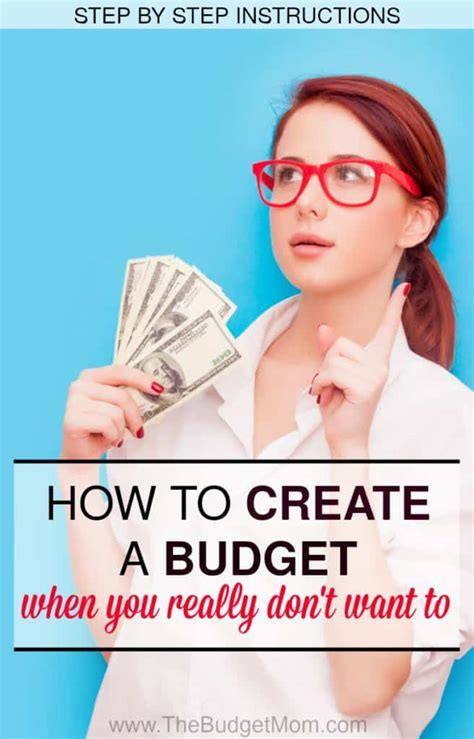 create  budget    dont